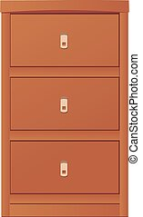 light-coloured cupboard