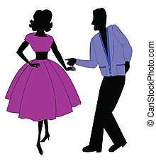 fifties dancers