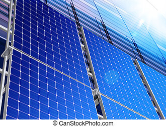 solar industry - Renewable, alternative solar energy,...