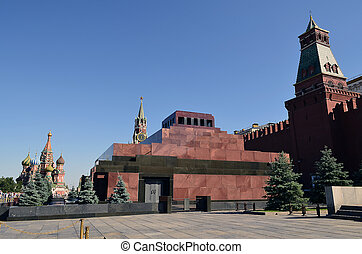 Red Square - The main and most famous square in Moscow, at...