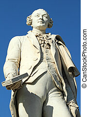 statue of Goldoni - statue of Italian playwright and...