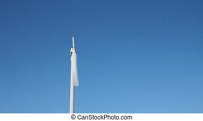 Single blade wind turbine