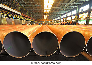 Merchandise for heavy industry steel pipes