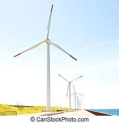 Wind farm - This is a photograph of a wind farm that I have...