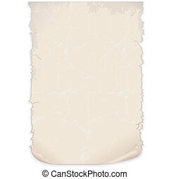 Aged Paper Vector - Aged Paper Poster Vector Image