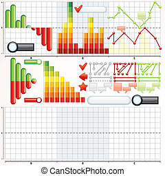 Business Graphs Collection - Collection of Variety Business...