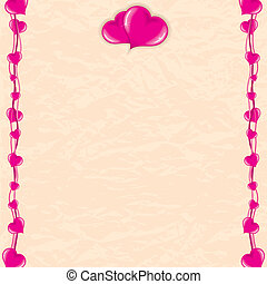 Romantic Vector Card
