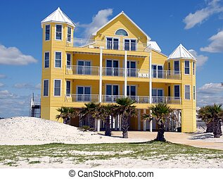 Beach House - photographed beach house in northern Florida