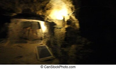 Turkey Underground City - Underground City In Cappadocia...