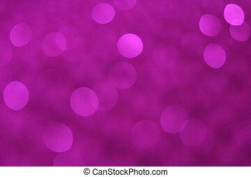 Purple Sequin Blur Background