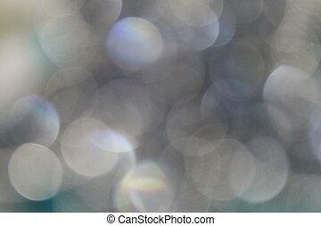 White Sequin Blur