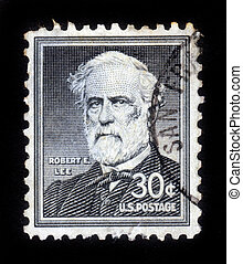 Portrait General Robert E Lee - UNITED STATES OF AMERICA -...