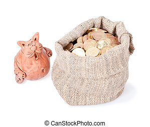 Unexpected riches - The surprised cat costs near to a bag of...