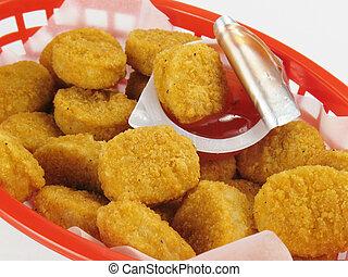 Basket of Chicken Nuggets