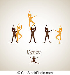 couples dance positions - Illustration of couples dance...