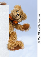 Teddy Bear: You are Welcome - Teddy Bear offering a hand up...