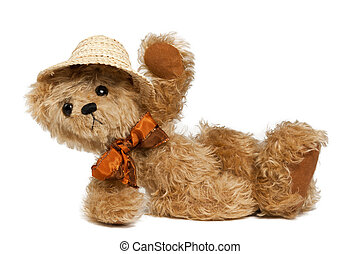 Holliday: Teddy Bear - Brown Teddy bear with Bow and Summer...