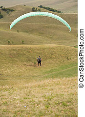 Ride the winds - Ride the winds, paragliders having fun...