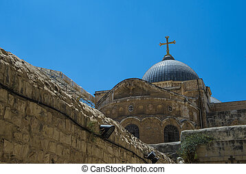 Holy sepulcher - The church of the Holy sepulcher in...