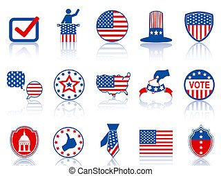 election icons and buttons