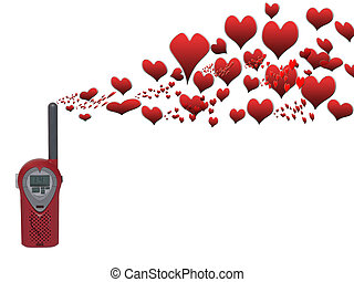 love notes 2 - love messages being sent over the airwaves on...