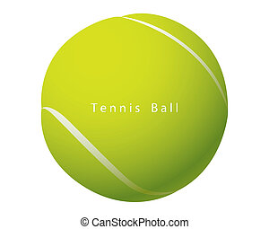 Tennis Ball vector - The abstract of Tennis Ball vector