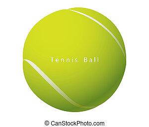 Tennis Ball vector - The abstract of Tennis Ball vector