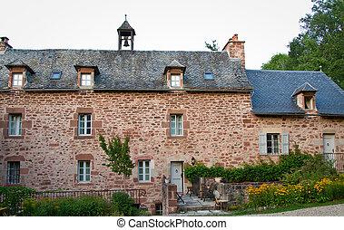Old Nunnery - Old nunnery near espalion in Aubrac, France