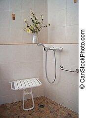 Shower for Disabled - Bathroom shower designed for disabled...