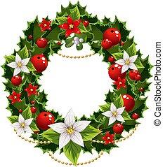 Christmas embellishment - Christmas green and red...