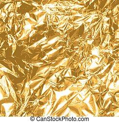 Christmas gold foil texture