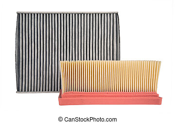 two different air filters