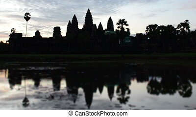 angkor wat - sunrise at angkor wat