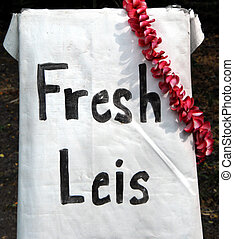 Big Island Entrepreneurship - Fresh leis, made by big island...