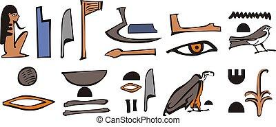 Egypt hieroglyph