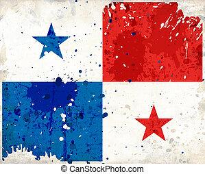 Grunge, Panamá, bandera