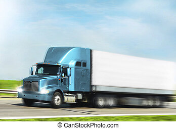 lorry - moving cargo truck