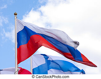 National flags of different country - Flags of the world...