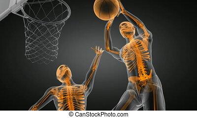 basketball game player