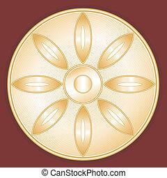 Buddhism Symbol, Lotus Blossom