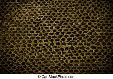 Snake Skin Leather Texture - Closeup of snake Skin Leather...