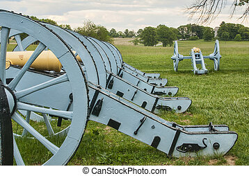 Revolutionary War Cannons