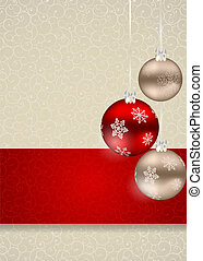 Abstract beauty Christmas and New Year seamless pattern background. Vector illustration