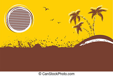 Vector tropical background.Abstract image