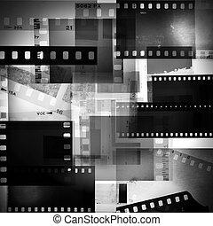 película, negativos