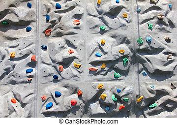 牆, 攀登, 背景, 岩石