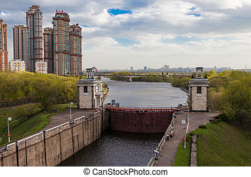 Moscow Canal. Gateway
