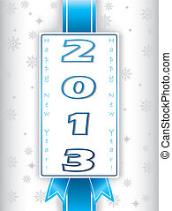 2013 new year's eve greeting card