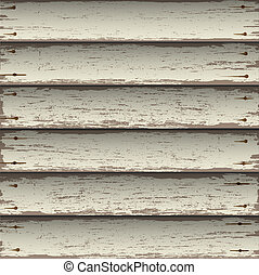 Old wooden texture. Vector background
