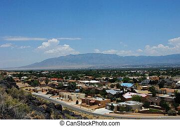 Albuquerque Overlook from Petroglyph Park - Overlook from...